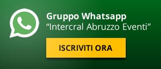Iscriviti al gruppo Whatsapp Intercral Abruzzo